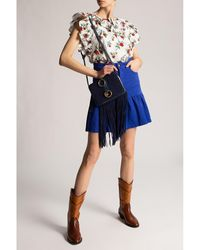 See By Chloé Top with floral motif Blanco