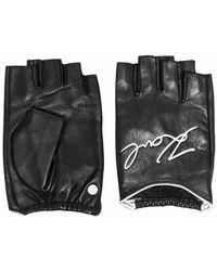 Karl Lagerfeld Signature Gloves - Zwart
