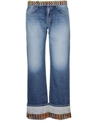 Alanui Jeans - Bleu