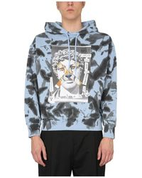 Versace Jeans Couture Hoodie - Blauw