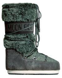 Moon Boot Botas Altas - Blauw