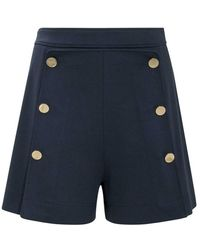 See By Chloé Shorts With Buttons - Blauw