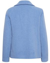 Part Two Coat Azul