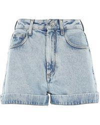 Alessandra Rich Shorts - Blauw