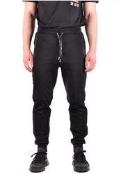 Les Hommes Trousers - Zwart