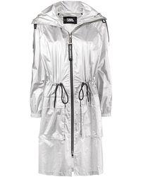 Karl Lagerfeld Raincoat - Grijs