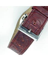Gucci Steel Mod 104 Wrist Watch - Rood