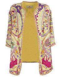Etro Jersey Jacket - Roze
