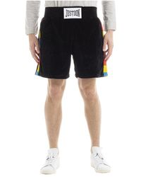 Giuseppe Zanotti Islanders Rainbow Boxing Shorts - Zwart