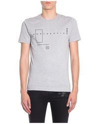 Heritage T-Shirt Ty-Abstraction - Grigio