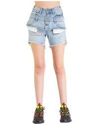 One Teaspoon Shorts 21284 - Blauw
