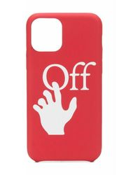Off-White c/o Virgil Abloh Iphone 11 Pro Case - Rood
