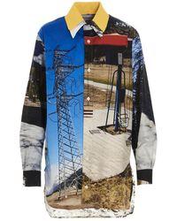 Plan C Shirt - Blauw