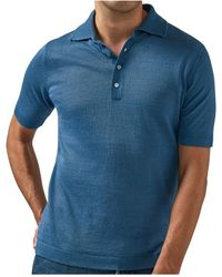 Lardini Polo Shirt - Blauw