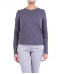 J Brand Jb000403 Long Sleeve T-shirt - Grijs