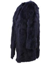 FRAME Coat Azul