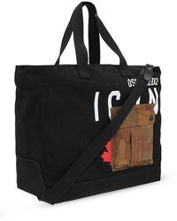 DSquared² Shopper bag Negro