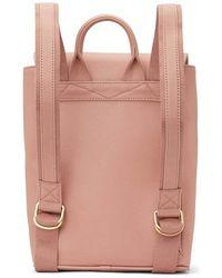 Matt & Nat Fabi Mini Vintage Backpack - Roze