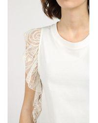 Dondup T-shirt Beige - Neutro
