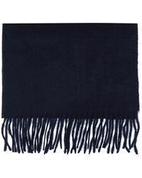 Off-White c/o Virgil Abloh Logo scarf - Bleu