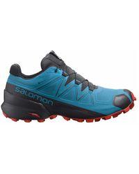 Salomon Speedcross 5 Gtx Shoes - Blauw