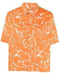 Plan C Camicia - Oranje