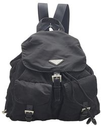 Alaïa Tessuto Drawstring Backpack - Nero
