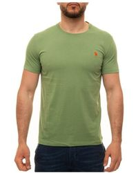 U.S. POLO ASSN. T-shirt Girocollo - Groen
