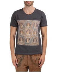 Gabriele Pasini Short sleeve t-shirt crew neckline jumper - Gris