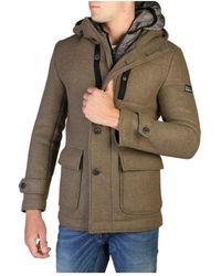 Yes-Zee O824_bj 00 coat - Marrón