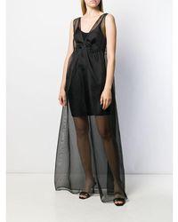 Alanui Organza Dress Negro