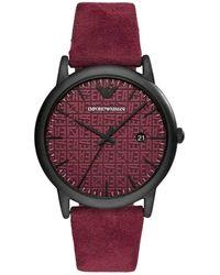 Emporio Armani Watch - Rood