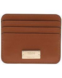 Tod's Wallet xawenbf1200pxp 7p63 - Marrone