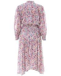 Isabel Marant Dress Ro187621P009E Morado - Multicolor