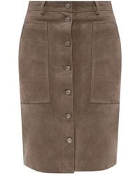 AllSaints Lorel skirt - Grau