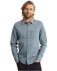 Denham Shirt - Blauw