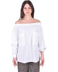 Erika Cavallini Semi Couture Blusa Geremia - Bianco