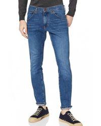 Wrangler Trousers W14xt112e - Blauw