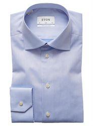 Eton Shirt - Blau