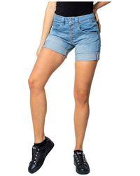Please Shorts - Blauw