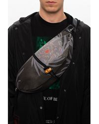 Undercover Leather Belt Bag - Grijs