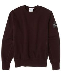 Helmut Lang Crew Sweat Patch - Rood