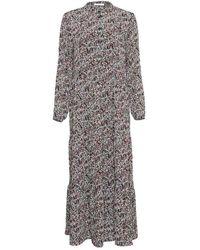 Moss Copenhagen Glorie Rikkelie Maxi Dress - Zwart
