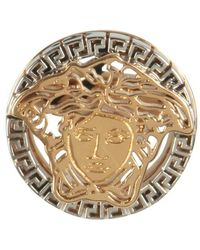 Versace The Medusa Metal Touch Ring - Geel