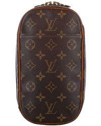 Louis Vuitton Pochette Monogram Gange Canvas - Marrone