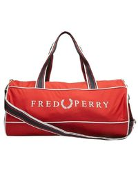 Fred Perry Bag - Rood