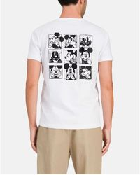Alpha Industries - Mickey Mouse Emotions T-Shirt 0F013 6301 1101 Blanco - Lyst