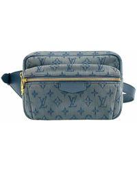 Louis Vuitton Marsupio usato - Blu