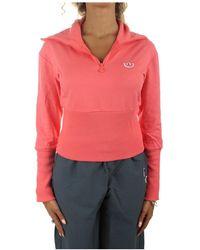 adidas Sweatshirt Met Zip - Rood
