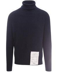 Ballantyne Knitwear T2p060 - Blauw
